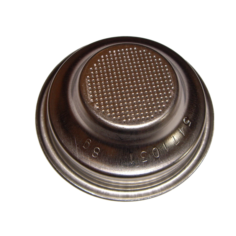 Unpressurized Bezzera filter basket for one cup, 8gr, 58mm
