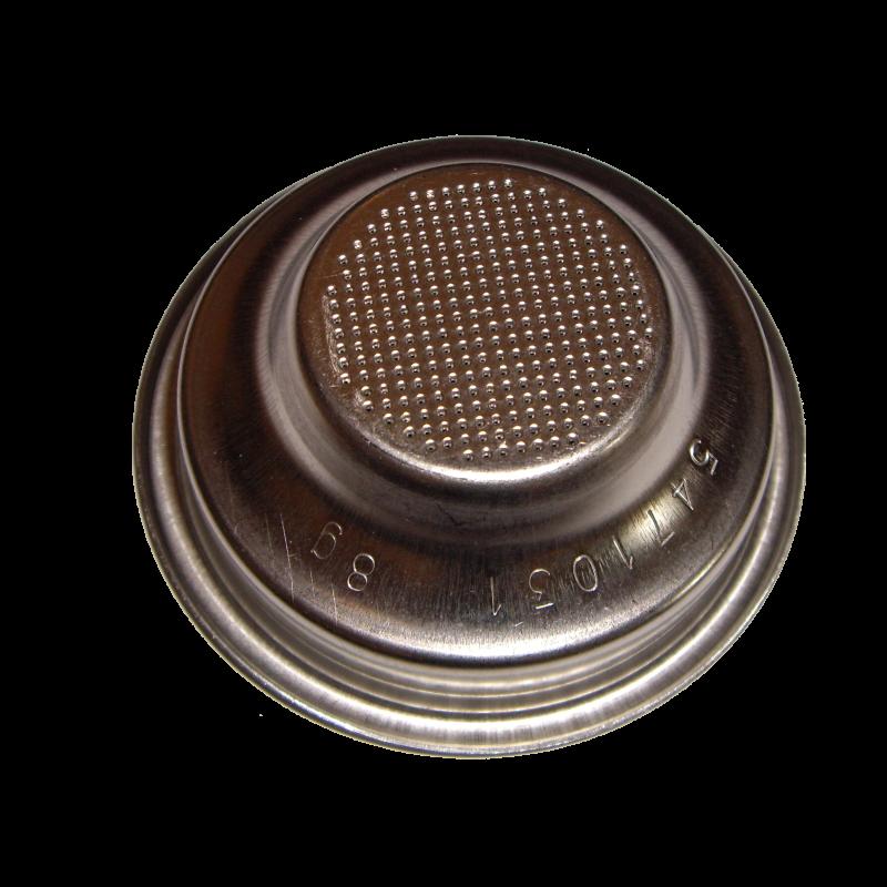 Filtru Bezzera nepresurizat pentru o ceaşcă, 8g, 58mm