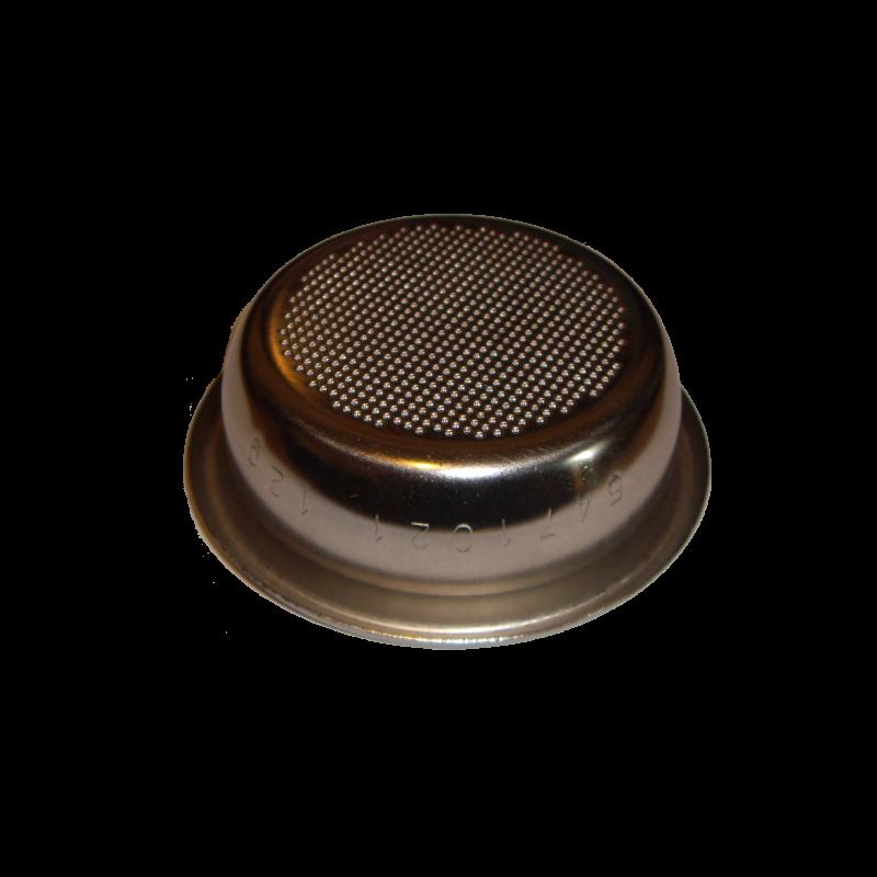 Filtro Bezzera non pressurizzato per due tazze, 12gr, 58 mm