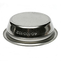Unpressurized Rancilio filter basket for two cups, 58mm