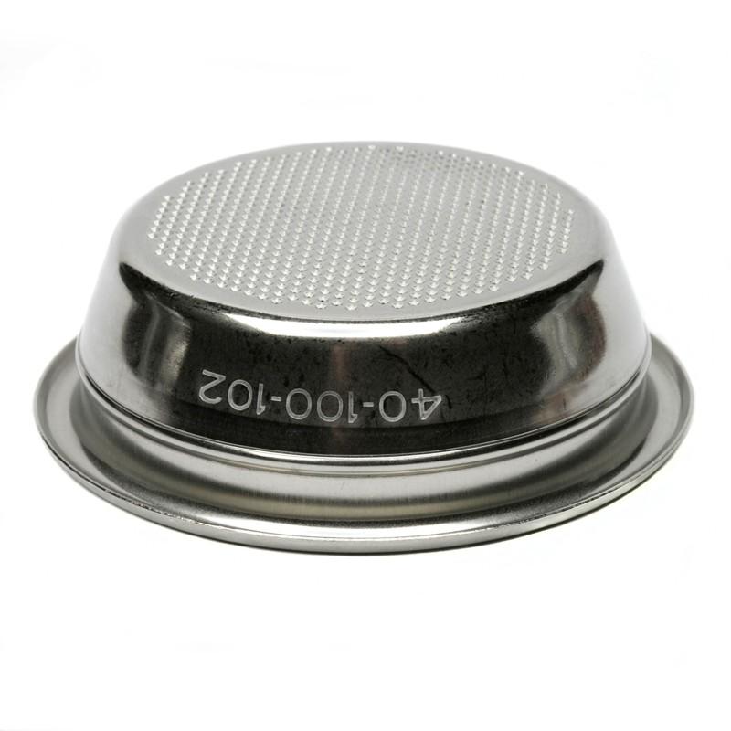 Filtro Rancilio non pressurizzato per due tazze, 58 mm