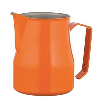 Professional milk jug Motta Europa Orange 75 cl