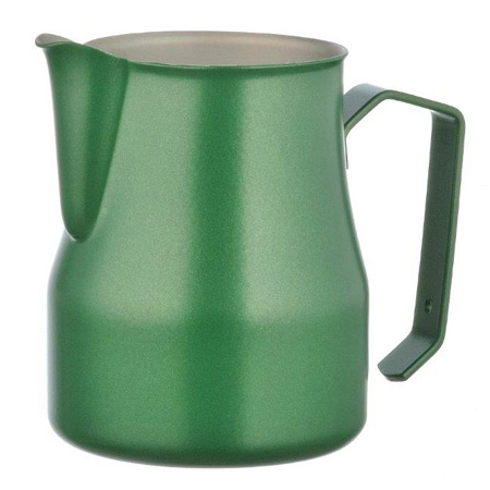 Professional milk jug Motta Europa Green 35 cl