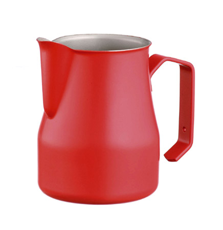 Professional milk jug Motta Europa Red 50 cl