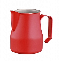 Professional milk jug Motta Europa Red 75 cl