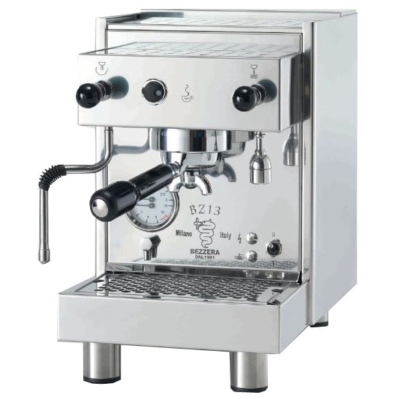 Coffee machine Bezzera BZ13 PM, push button, water tank, vibration pump, double manometer