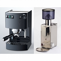 Coffee machine Bezzera New Hpbby Black + Coffee grinder Bezzera BB005 TM