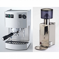 Coffee machine Bezzera New Hpbby Inox + Coffee grinder Bezzera BB005 TM