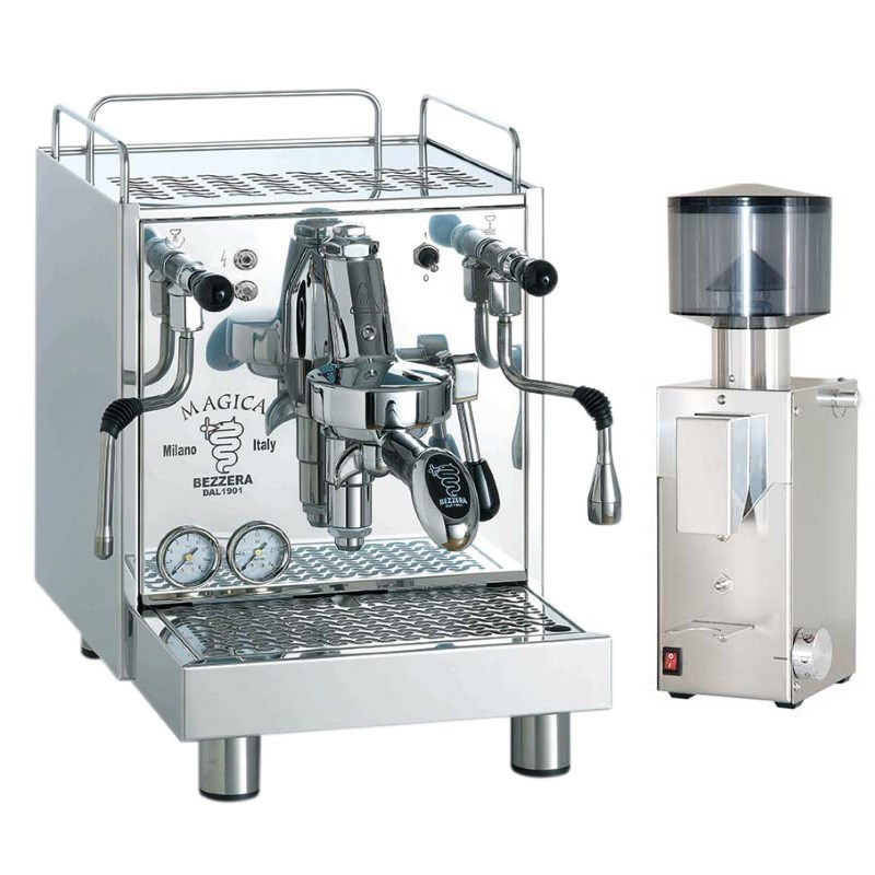 Coffee machine Bezzera Magica S MN + Coffee grinder Bezzera BB005 TM