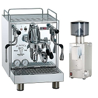 Coffee machine Bezzera Magica S MN PID + Coffee grinder Bezzera BB005 TM