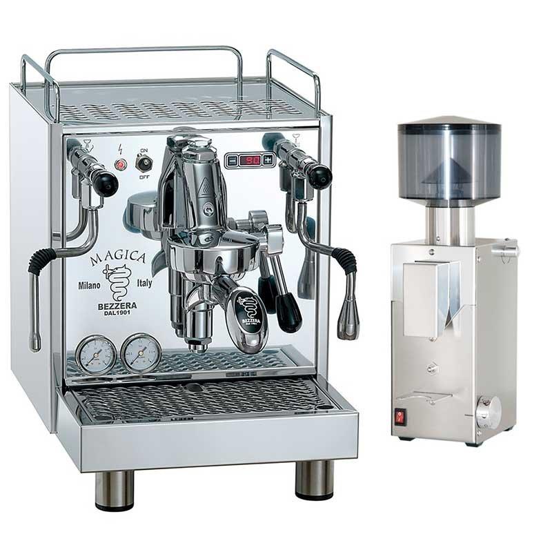 Macchina da caffè Bezzera Magica S MN + Macinacaffè Bezzera BB005 TM