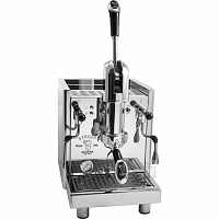 Coffee machine with lever Bezzera STREGA P TOP AL, double water supply, vibration pump, manometer