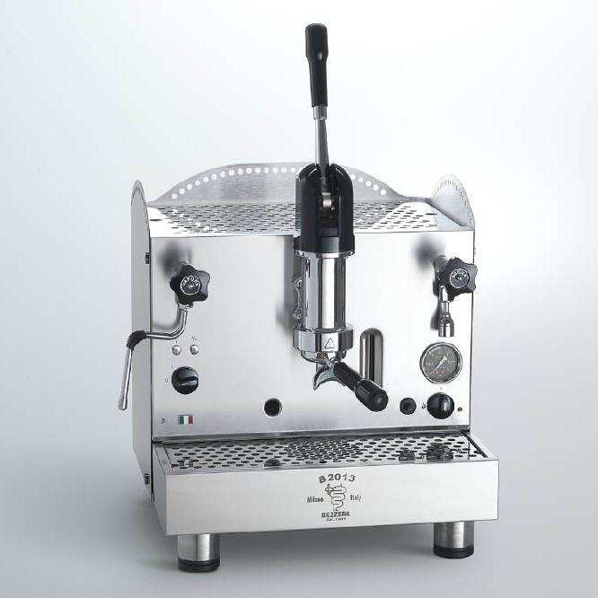 Macchina caffè professionale Bezzera B2013 AL, leva dosaggio, 1 gruppo