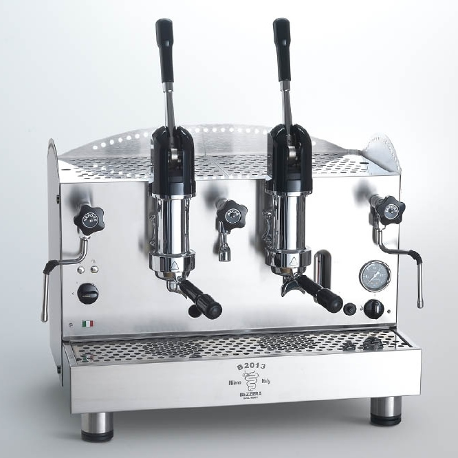 Professional coffee machine Bezzera B2013 AL, lever dosage, 2 group