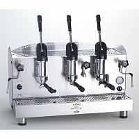 Professional coffee machine Bezzera B2013 AL, lever dosage, 3 groups
