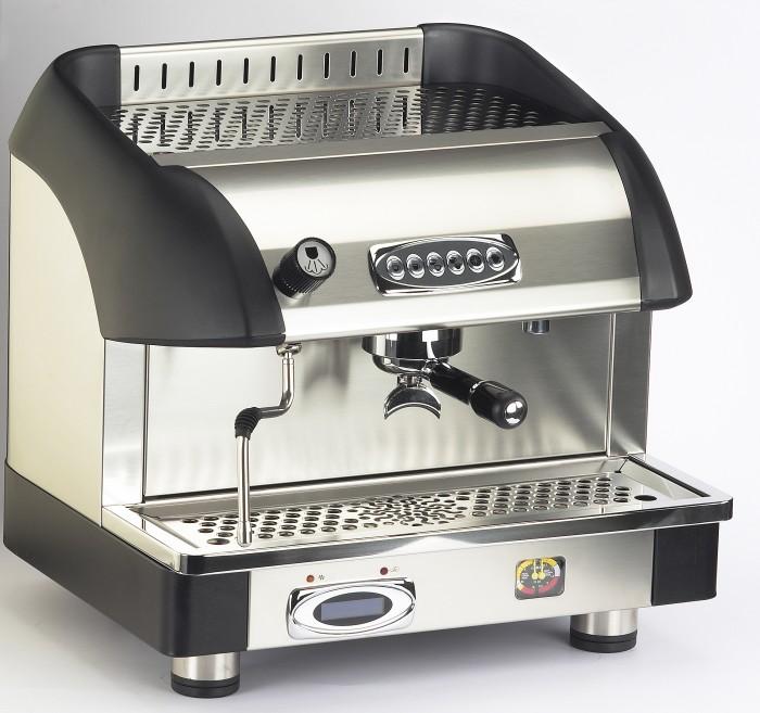 Macchina caffè professionale Bezzera B6000 DE, dosaggio elettronico, 1 gruppo