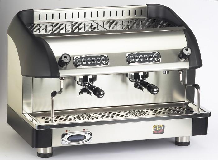 Espressor profesional Bezzera B6000 DE, dozare electronică, 2 grupuri