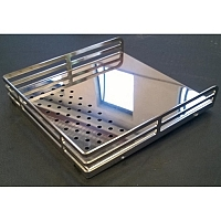 969.coffee Elba cup frame - polished stainless steel