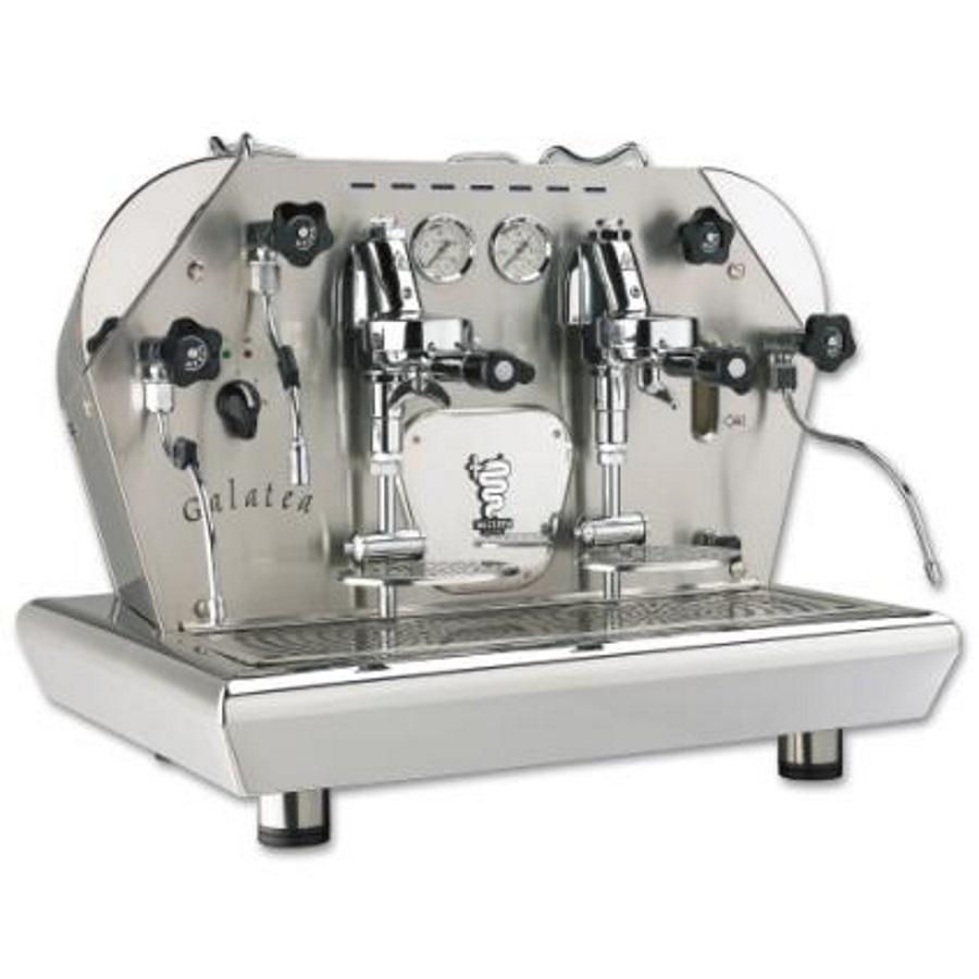 Macchina caffè professionale Bezzera GALATEA MN, dosaggio manuale, 2 gruppi