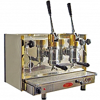 Professional lever coffee machine Bosco Posillipo, 2 groups
