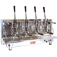 Professional lever coffee machine Bosco Sorrento, 4 groups