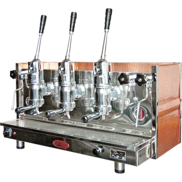 Professional lever coffee machine Bosco Sorrento, 3 groups