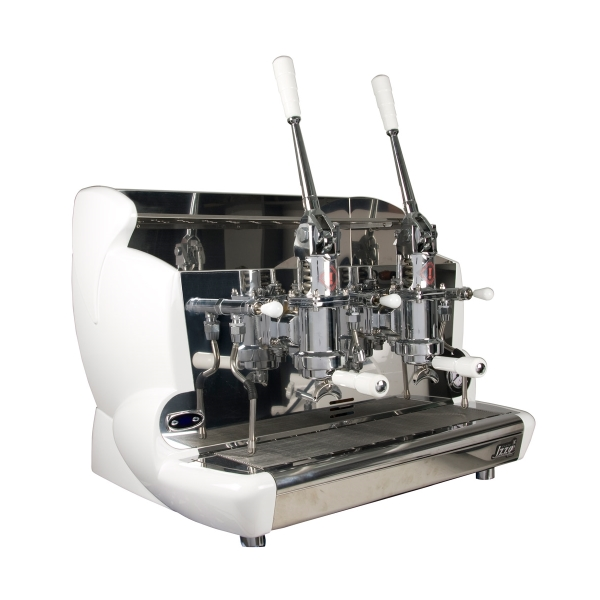 Professional lever coffee machine Izzo, 2 groups
