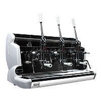 Professional lever coffee machine Izzo, 3 groups
