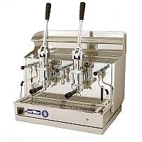 Macchina caffè professionale a leva Izzo MyWay Pompei, 2 gruppi