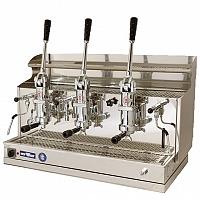 Macchina caffè professionale a leva Izzo MyWay Pompei, 3 gruppi