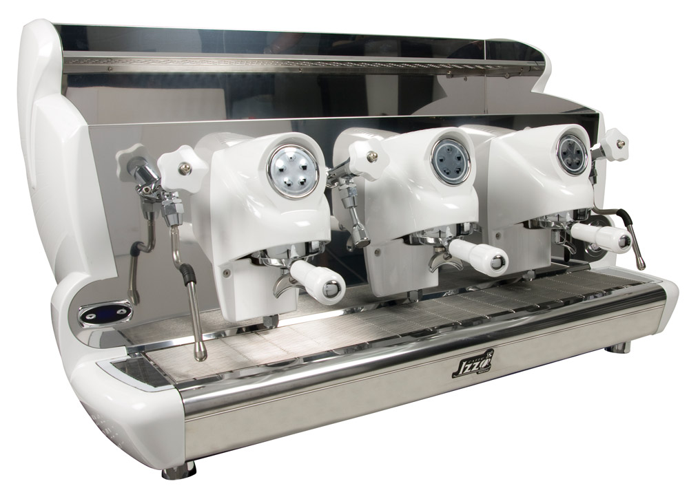Professional coffee machine Izzo MyWay Sorrento automatic, 3 groups, PID control