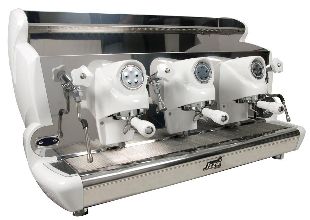 Macchina caffè professionale Izzo MyWay Sorrento automatico, 3 gruppi, PID controllo