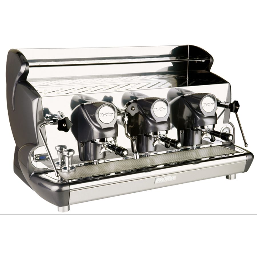 Professional coffee machine Izzo MyWay Sorrento with lever, 3 groups, PID control