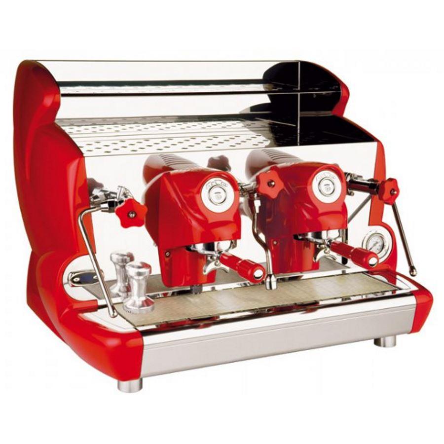 Macchina caffè professionale Izzo MyWay Sorrento semiautomatico, 2 gruppi, PID controllo