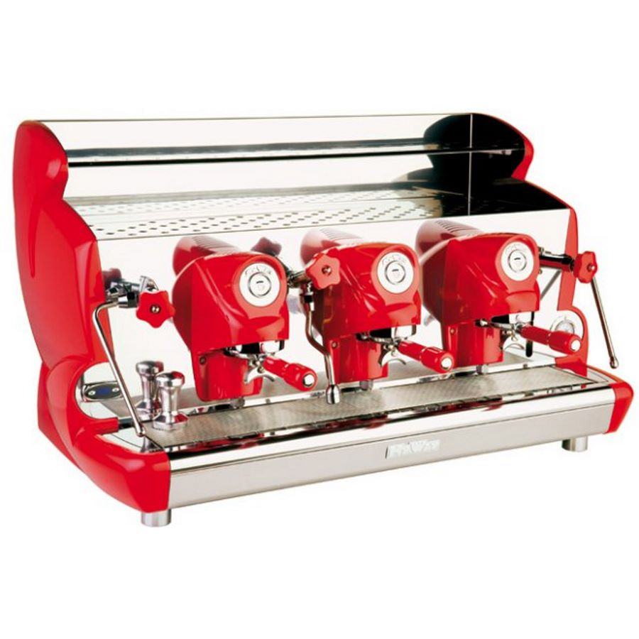 Professional coffee machine Izzo MyWay Sorrento semi-automatic, 3 groups, PID control