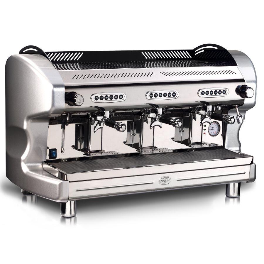 Macchina caffè professionale Quick Mill QM66 DE, 3 gruppi