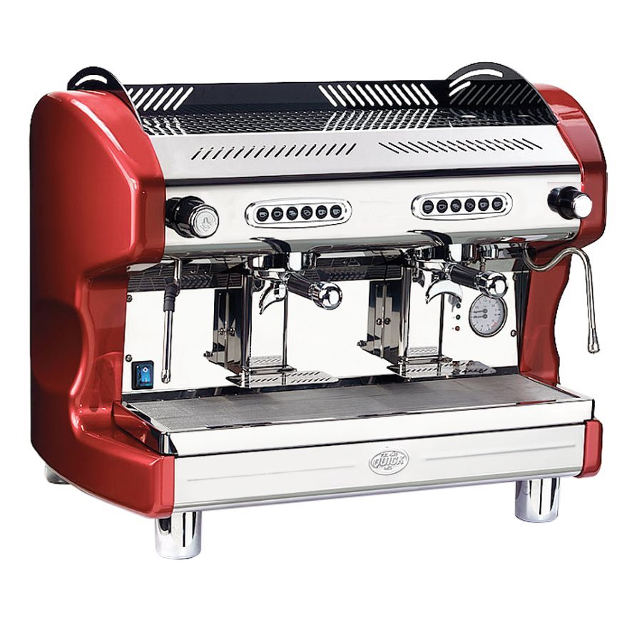 Espressor profesional Quick Mill QM65 DE, 2 grupuri