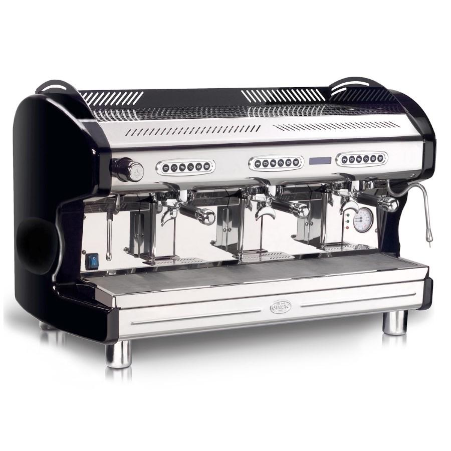 Macchina caffè professionale Quick Mill QM66 DE DISPLAY, 3 gruppi