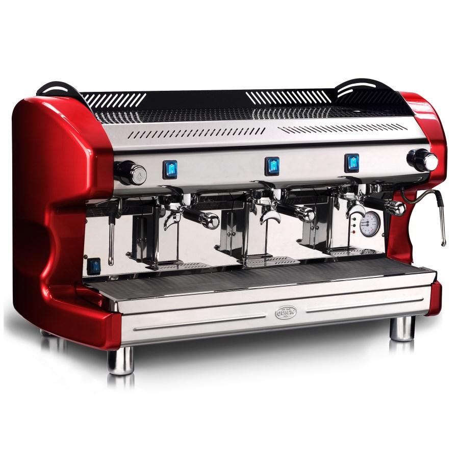 Macchina caffè professionale Quick Mill QM66 SEMI, 3 gruppi