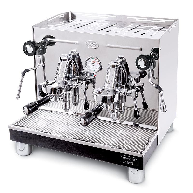 Macchina caffè semiautomatica professionale Quick Mill Uragano Levetta MOD.0998 M, 2 gruppi