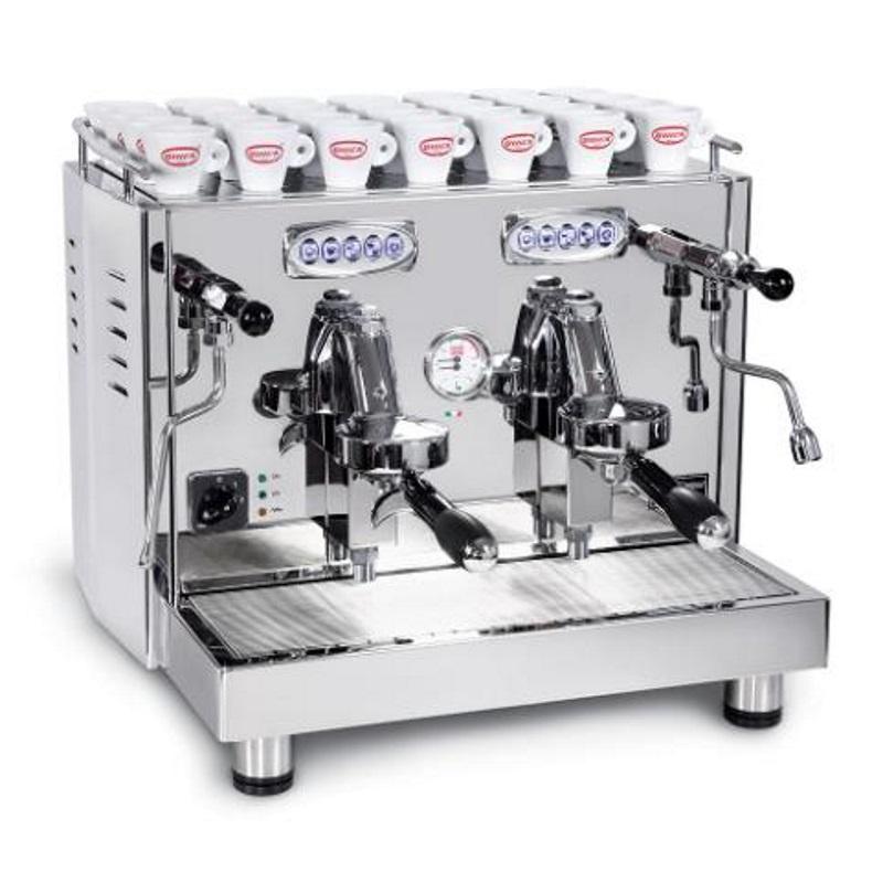 Macchina caffè automatica professionale Quick Mill Uragano Compact MOD.0998 DE NEW, 2 gruppi